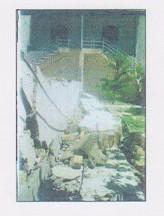 تخریب ساختمان زلزله آوج